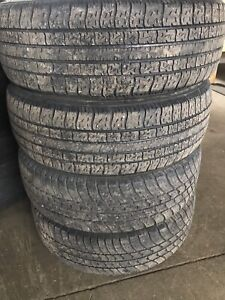 Set of 185/65R14 all season tires. 185 65 15