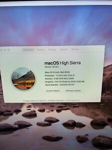 IMAC (21.5-INCH MID 2014) FOR SALE MINT CONDITION