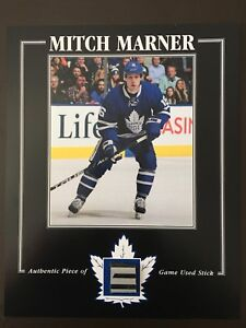 Mitch Marner game used stick photo