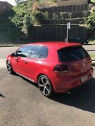 VW golf mk 6 GTI. Tornado red. DSG. The Hill Newcastle Area Preview