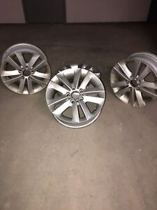 """17"""" rims and tires for BMW"""