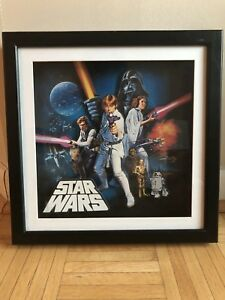 "Star Wars 14"" x 14"" picture frame / poster"