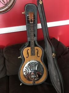 Hound dog Dobro Resonator Guitar