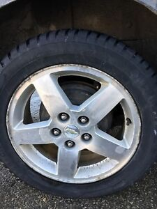 16inch factory cobalt rims with snows