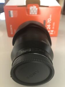Sony FE 24-70MM FA ZA Lens with brand new UV protector