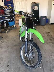 2002 Kawasaki KX 125L.
