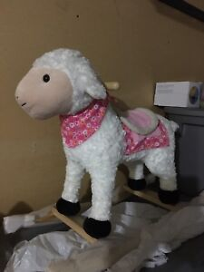 Sheep rocking chair.. new!!
