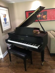 Beautiful Baby Grand Piano