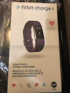 Brand new Fitbit charge 2 - plum - small