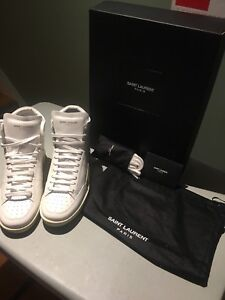 Ysl hightop court sneakers