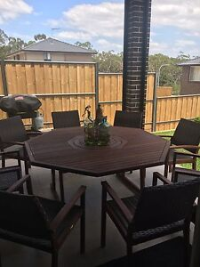 Outdoor setting  9 pieces Kellyville The Hills District Preview
