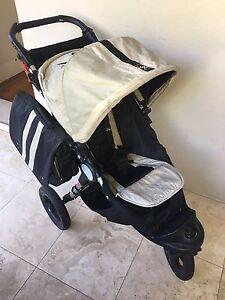 Baby Jogger City Elite Single 3 wheeler pram - newborn + Lane Cove Lane Cove Area Preview
