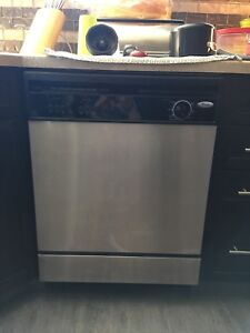 Whirlpool stainless dishwasher