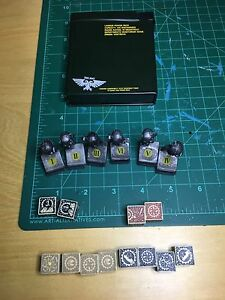 Warhammer Objective Markers and Vehicle Dice