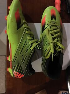 Adidas Soccer Cleats/shoes. US size 9