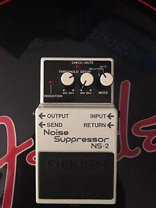 Boss NS 2 Noise Suppressor Alexandria Inner Sydney Preview