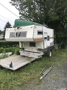 Trailer + bed camper