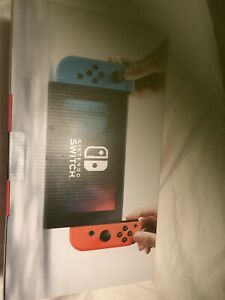 Nintendo Switch Console Neon red/blue Joy-Con with games
