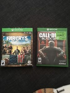Far cry 5 / Black ops 3