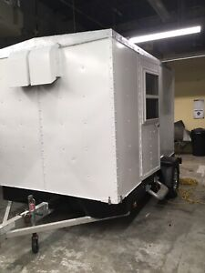 10 foot food trailer aluminum frame