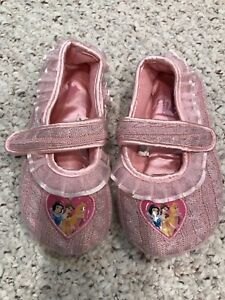 Princess Slippers Size 12