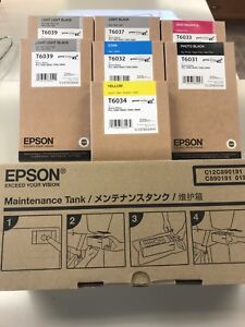 Ink and Maintenance tank for Epson printer