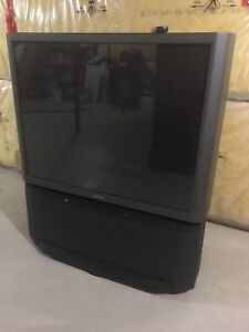 "Big screen Sony Projection Tv 56"" inch with remote control  ."