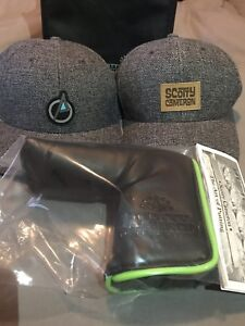 Scotty Cameron hat, sweater, cover, key chain