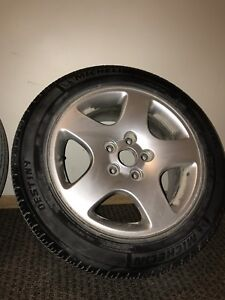 OEM Audi A4 5x112 Rims and Tires