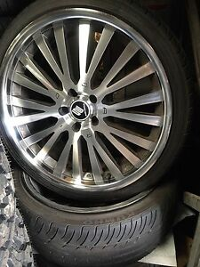 20 inch wheels holden mazda toyota mitsubishi Moorebank Liverpool Area Preview