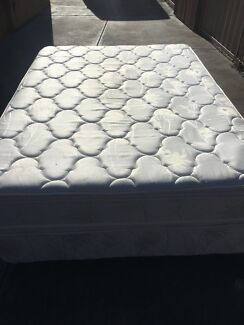 FREE DELIVERY Sleepeezee 2sides Pillow Top Double Mattress&Base