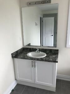 42 inch bathroom vanity with Sink & Countertop included