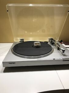 SONY PS-LX2 Direct Drive Automatic Turntable System New needle.