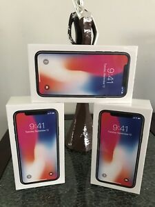 iPhone X 256 GB unlocked sealed box!