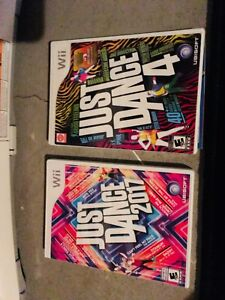 Jeux wii just Dance