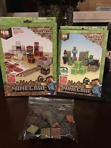 Minecraft items Paper Craft and Magnets