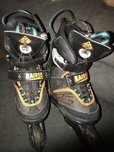 Youth boys adjustsble in-line skates/rollerblades