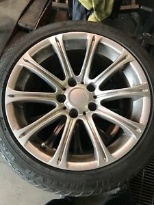 Bmw snow tires and rims 2254517
