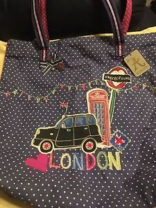 London Tote Bag Mayfield East Newcastle Area Preview
