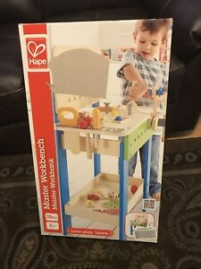 Hape Master Workbench ages 3+