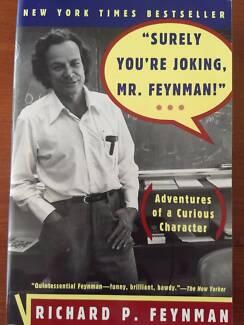 """Surely You're Joking Mr. Feynmam"""
