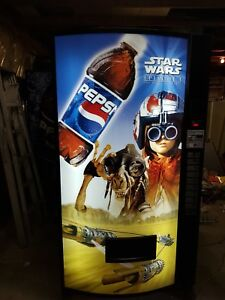 Star Wars The Phantom Menace Vending Machine