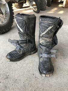 O'Neal dirt bike boots size 6