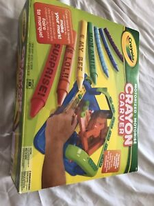 Like new crayola crayon carver