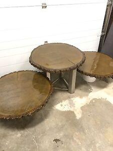 Custom concrete tables