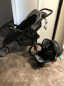 Graco FastAction Fold Jogger Travel System  Holt