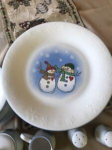 Winter dish set