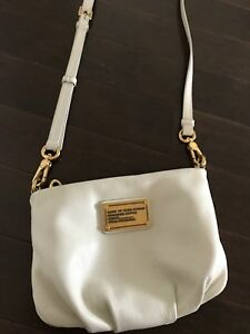 Marc Jacobs Crossbody bag - white leather
