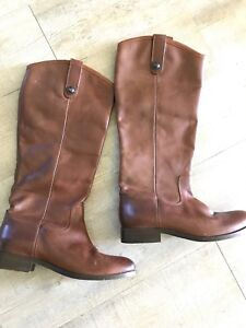 Frye leather riding boots, size 7