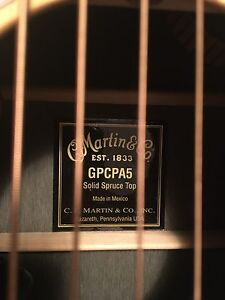 Martin 6 String Acoustic/Electric